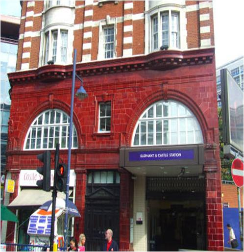 Elephant & Castle Station London