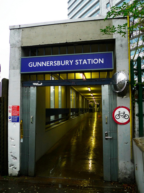 Gunnersbury Tube Station London, UK