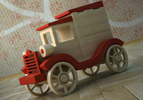 Build Realistic Wood Toys
