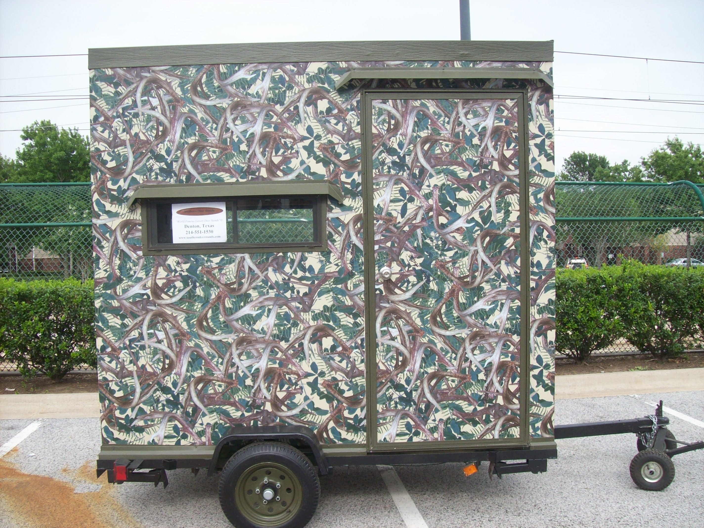 Build a Deer Blind on a Trailer