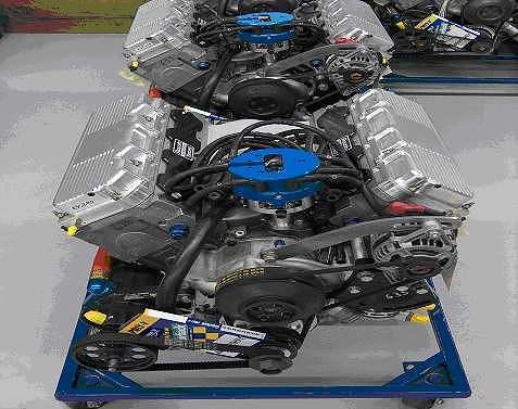 How to Build a NASCAR engine