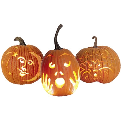 Carve Pumpkins with Small Children