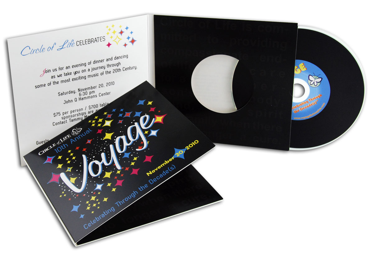 CD or DVD Photo Jacket