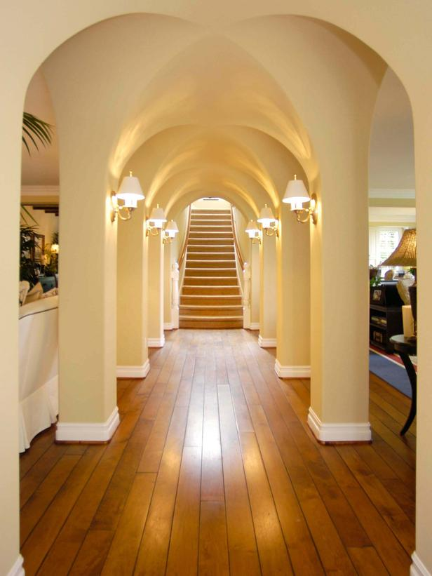 Foyer Interior Kit : How to create an arched entryway