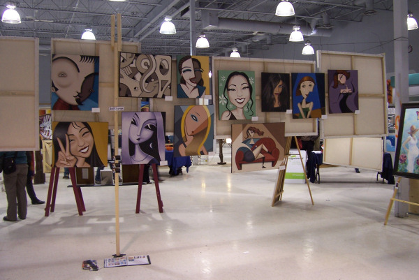 How to curate an art show for Art craft shows