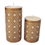 How to Customize Candles With Wax Designs