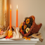 Fireplace Mantel for Summer