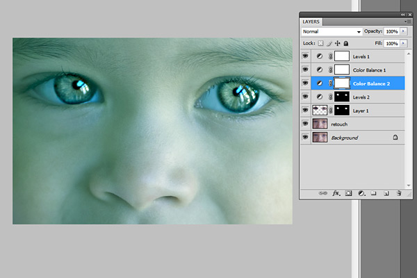 Sharpen an Image in Photoshop CS3