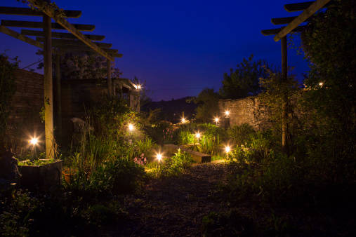 Extend Low Voltage Garden Lights