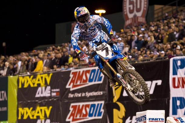 James Stewart Third at AMA Supercross