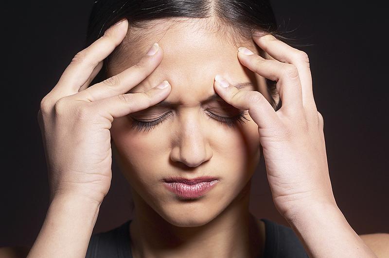 Girl headache