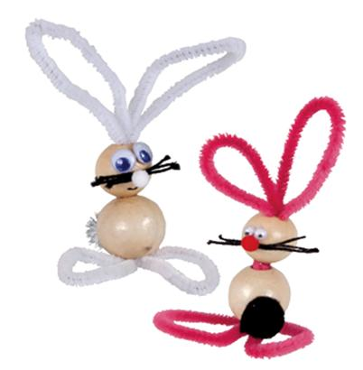 Beaded Bunnies for Easter