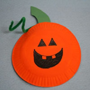 How to Make Paper Plate Pumpkins