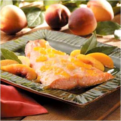 Peach Glazed Salmon Recipe
