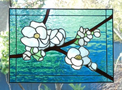 How to stain glass a window