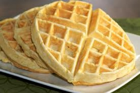 how to make waffles from scratch without waffle iron