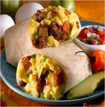 Sausage Egg Burrito Recipe