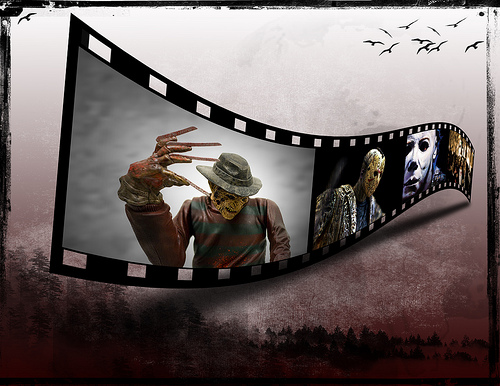 How to Make a Film Strip Image with GIMP