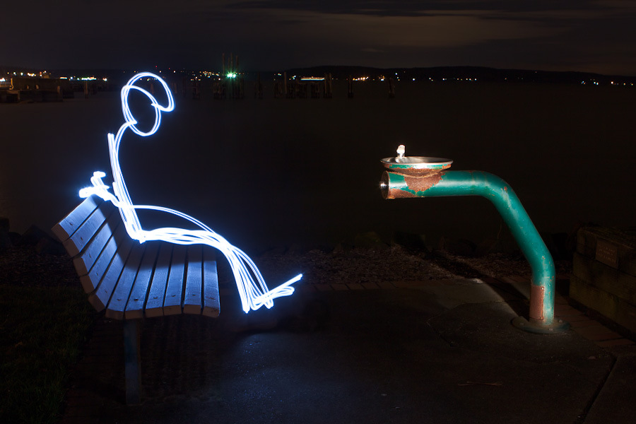 How To Make A Light Painting