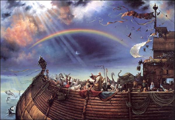 How to Make a Noah's Ark Model