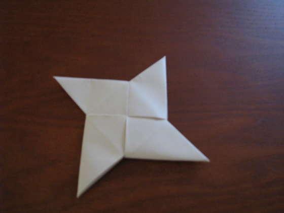 Origami Ninja Star - Origami Shuriken Folding Instructions