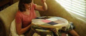 Make a Quilt From Old Clothes