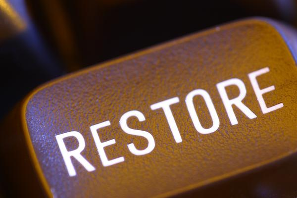 Perform a Dell System Restore