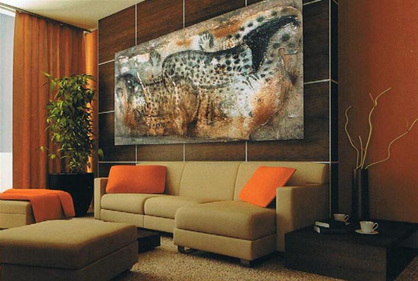 How to pick artwork for your living room - How to pick curtains for living room ...