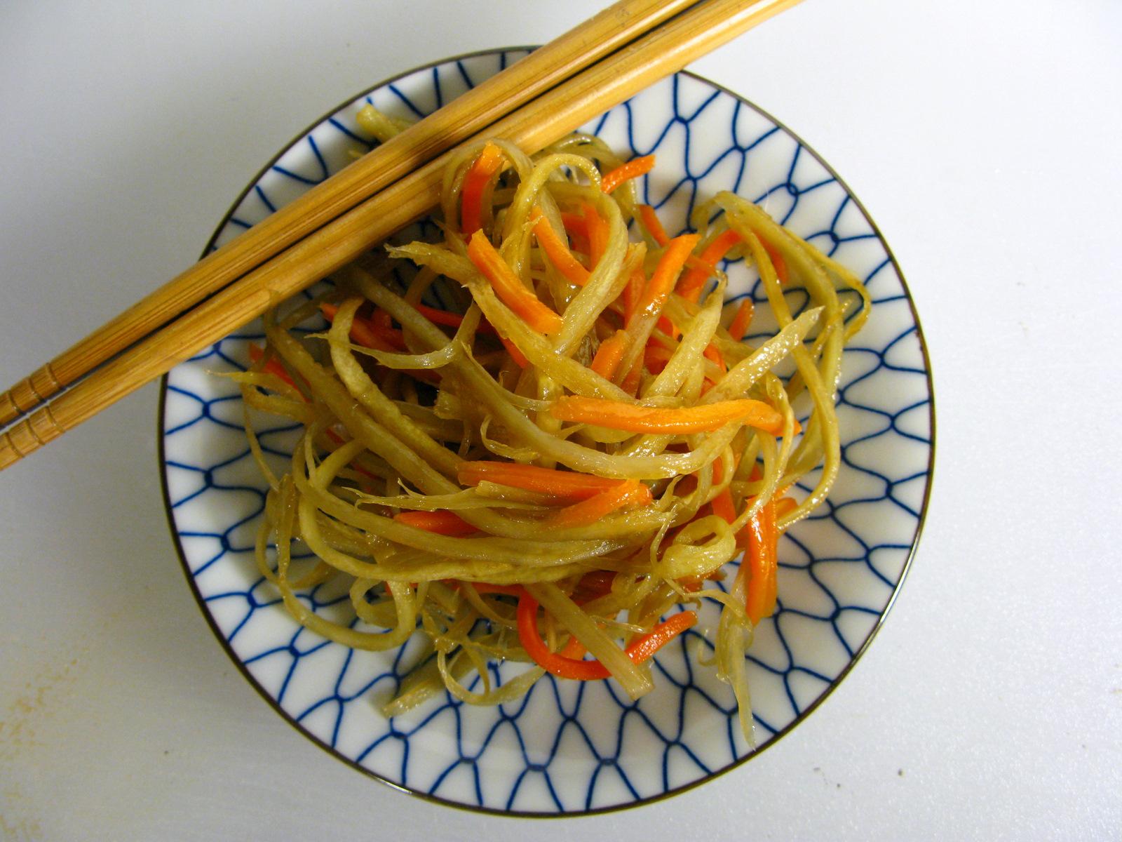 Japanese Kinpira Gobo