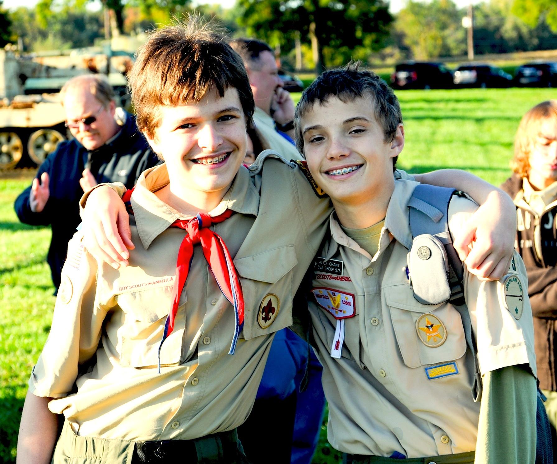 Boy Scouting, total fun