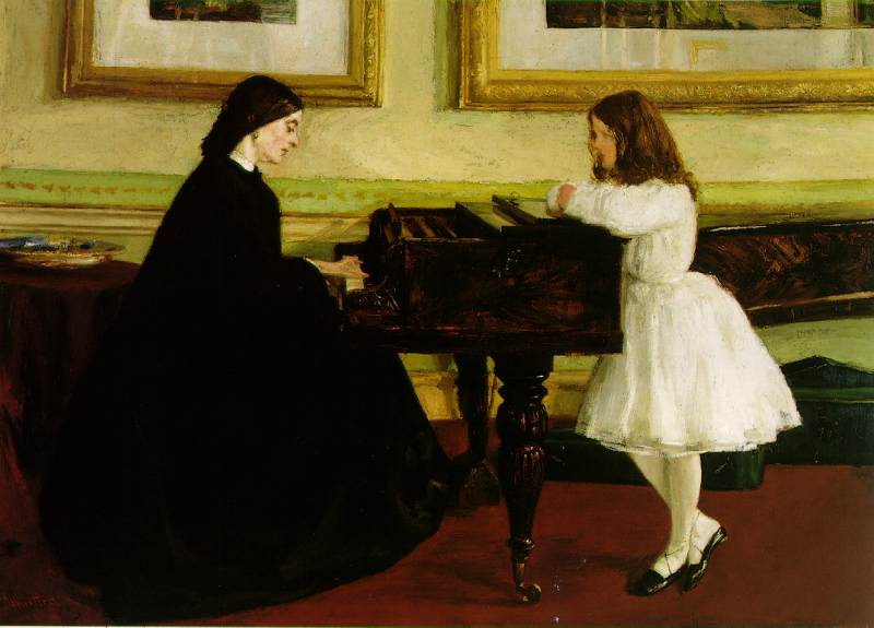 Seeing Whistler Paintings in Glasgow