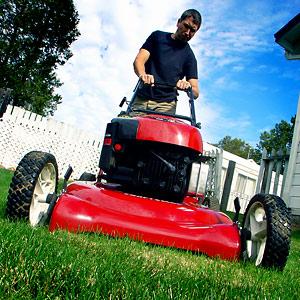 Start a Stubborn Lawn mower