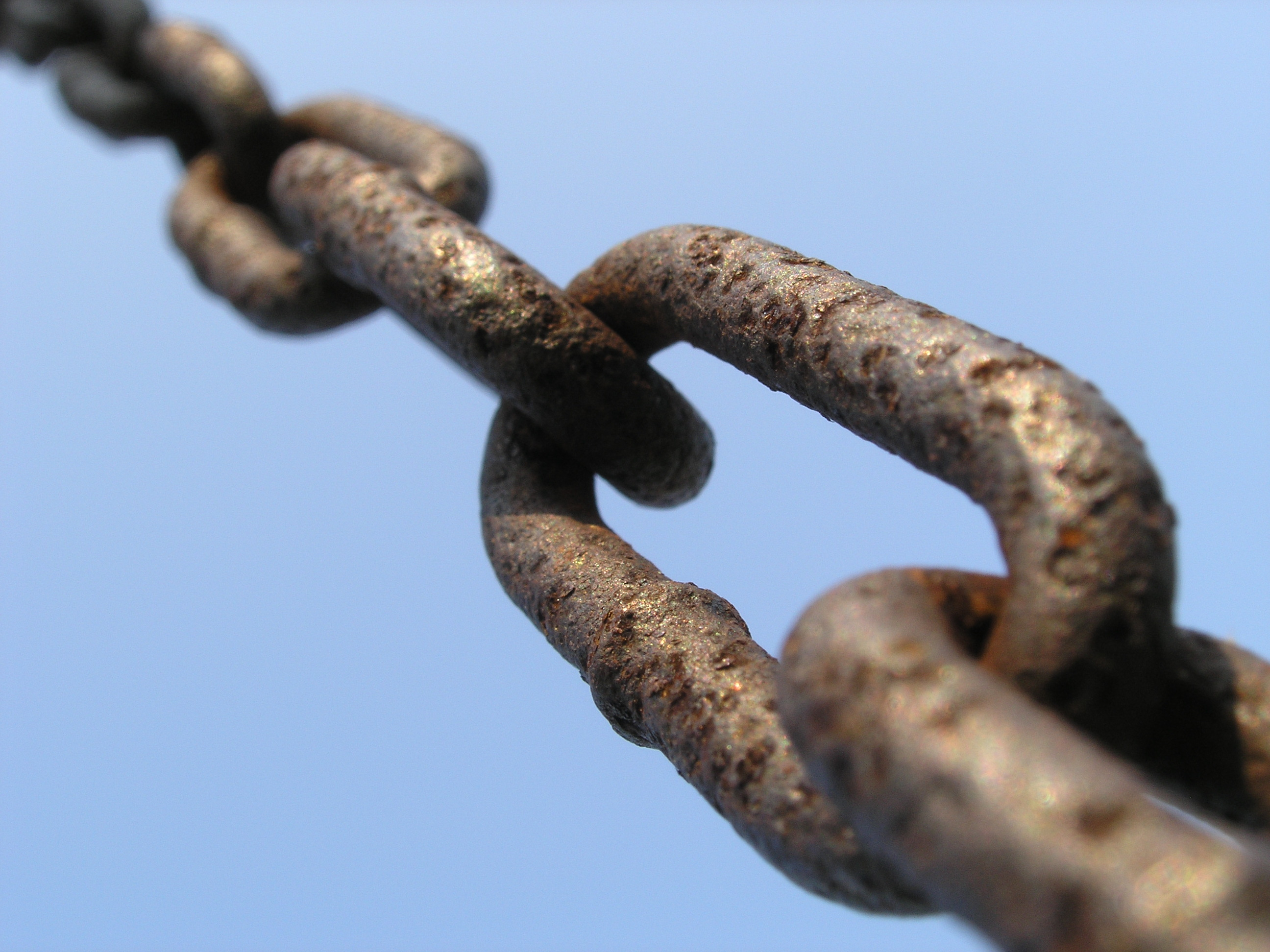A chain, working well