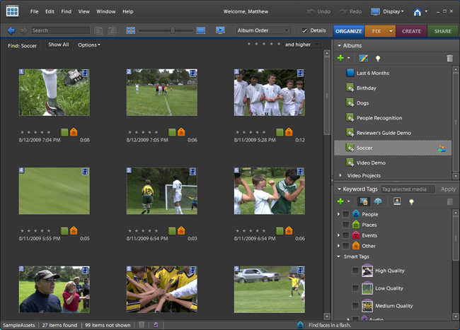 Adobe Elements Photo Organizer