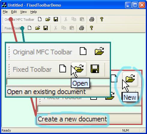 MFC Toolbars