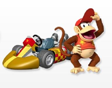 unlock Diddy Kong in Mario Kart Wii