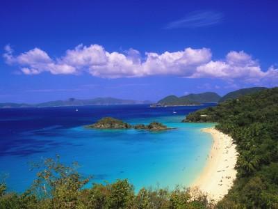 U.S. Virgin Island beaches