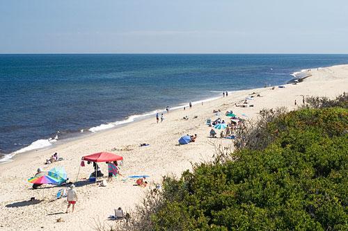 Beach in USA