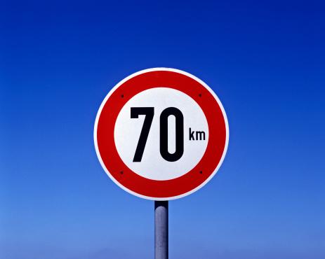 Speed sign