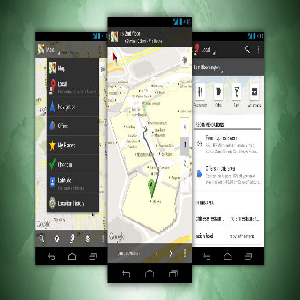 Navigation Apps for Android