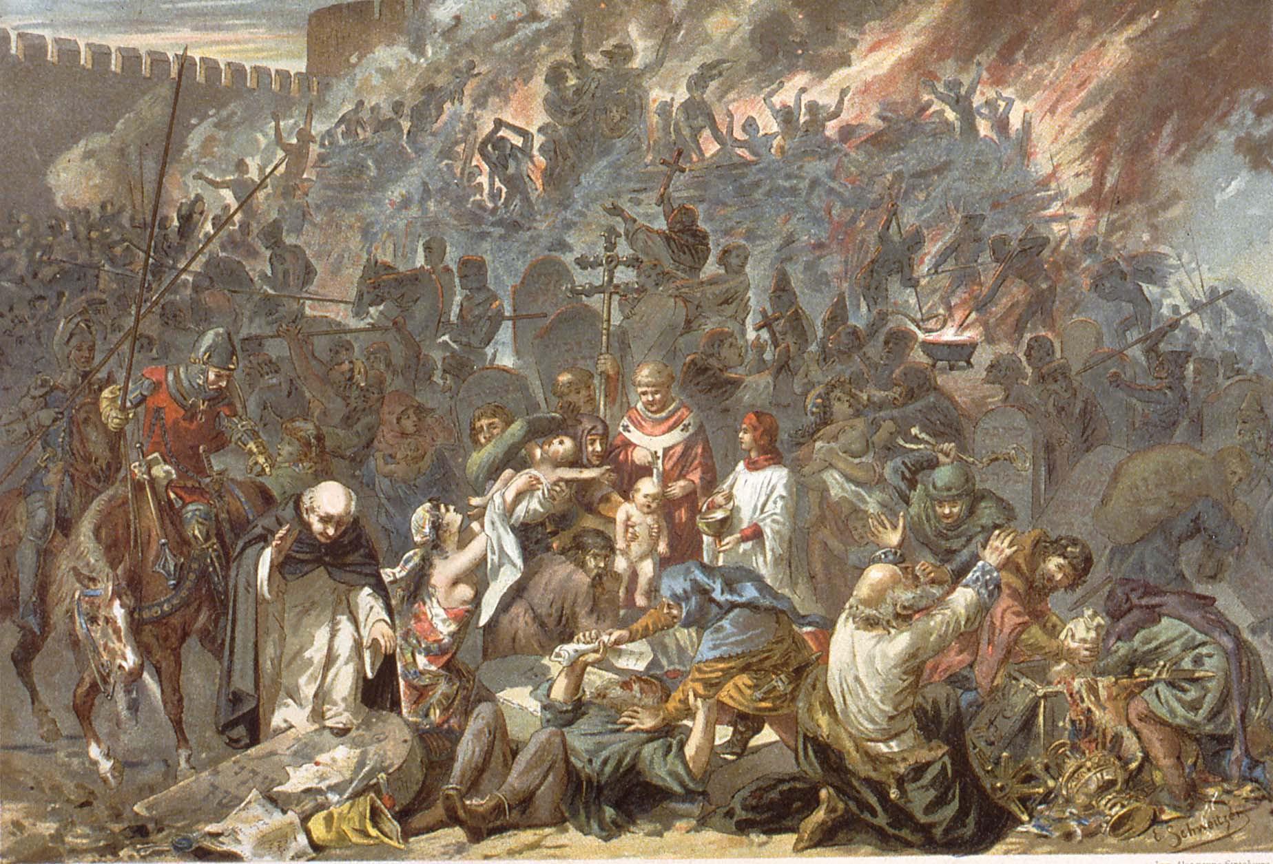 Pogrom, killing of Jews