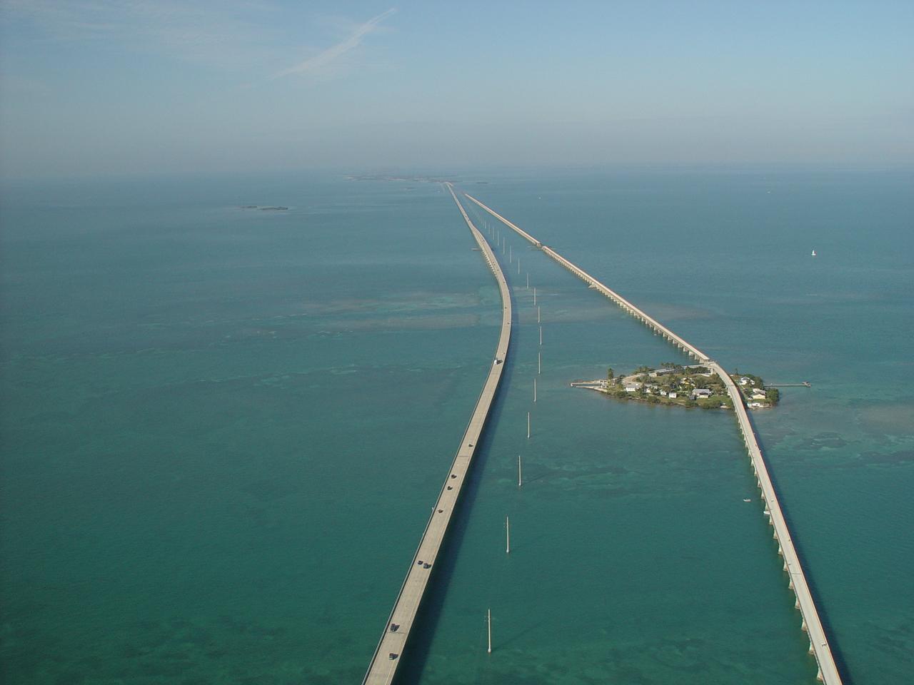 Seven Mile Bridge on Overseas Highway