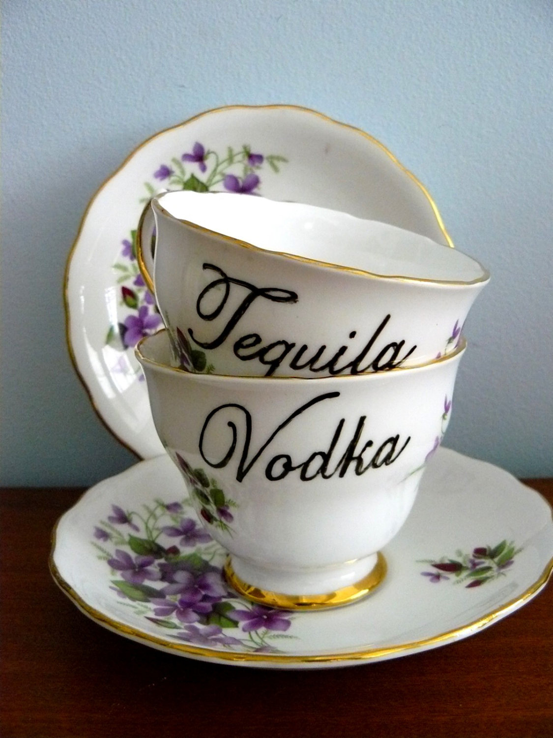Tequila and Vodka