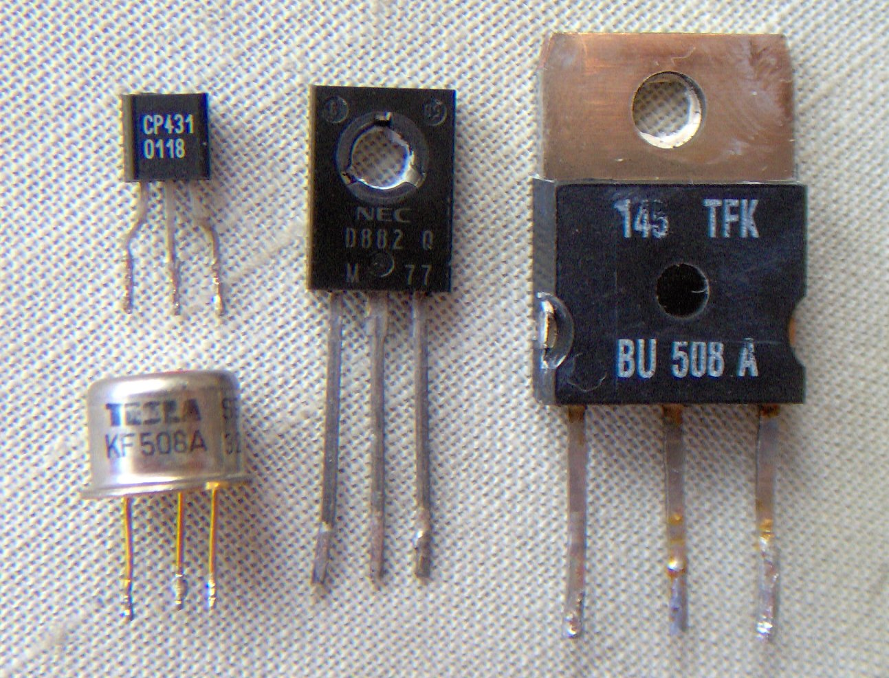 Transistor and Thyristor