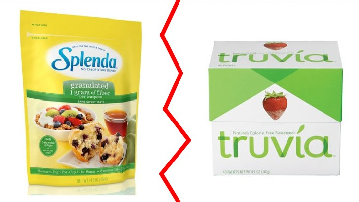 Truvia and Splenda