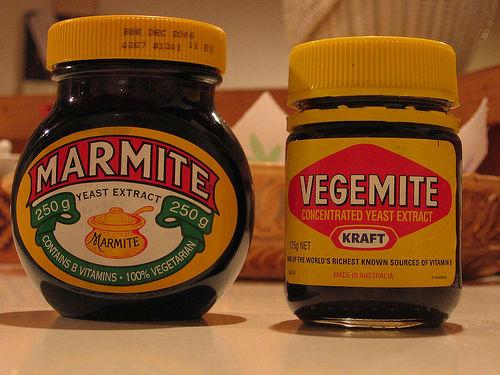 Vegemite and Marmite