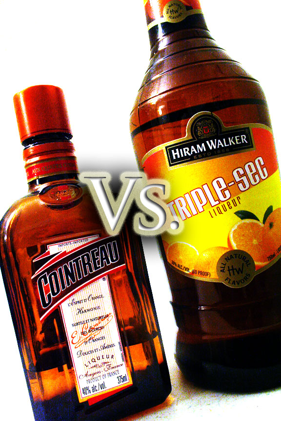 Difference between Cointreau and Triple Sec