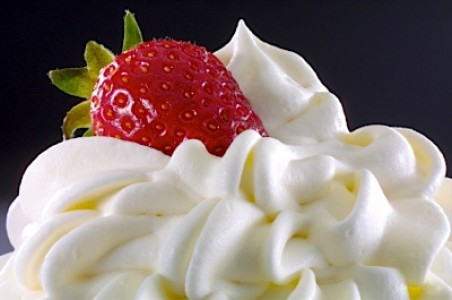 Double Cream and Whipping Cream