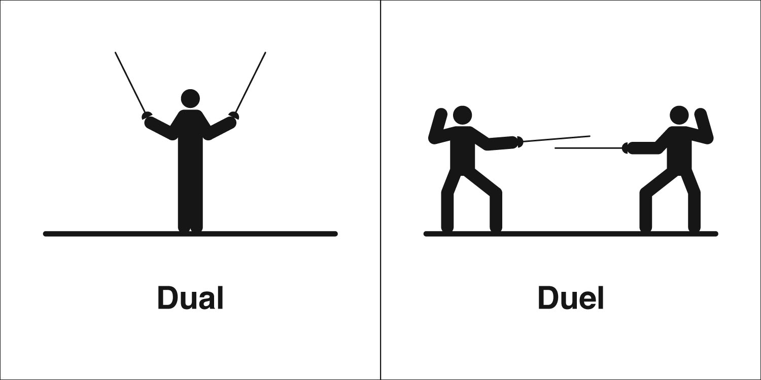 Image result for duel or dual