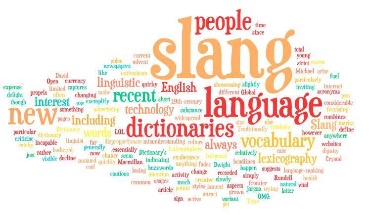 Jargon and Slang